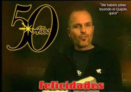 Miguel cumple 50 años. ¡Felicidades!