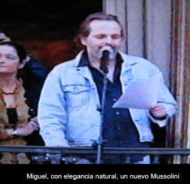¡Boicotean el pregón de Miguel!